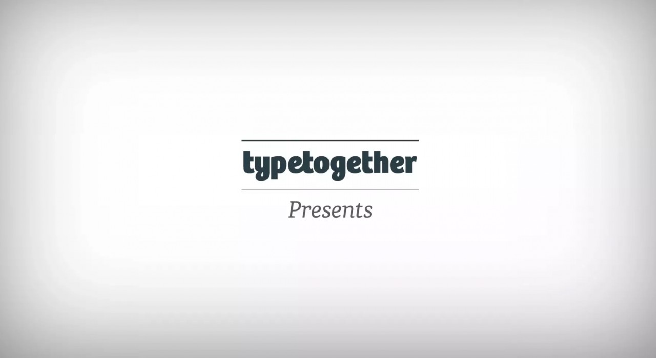TypeTogether Web Video Presentation